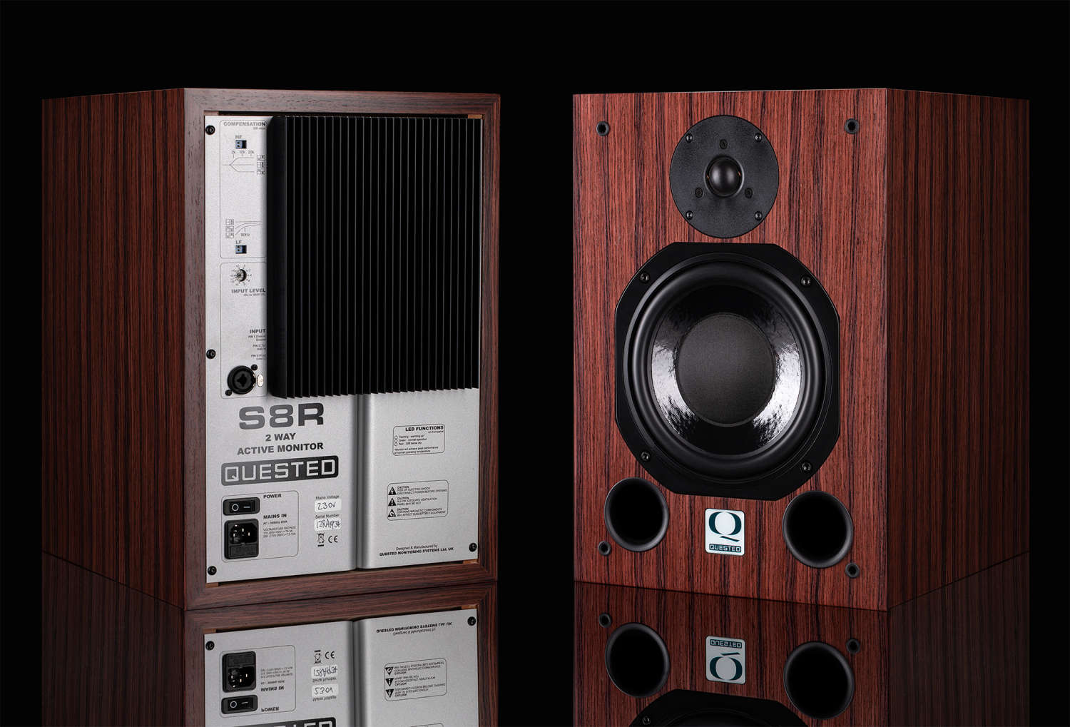 """Quested S8R """"Rosewood Edition"""" erhältlich"""