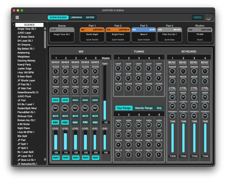 Roland stellt Jupiter-X Editor vor