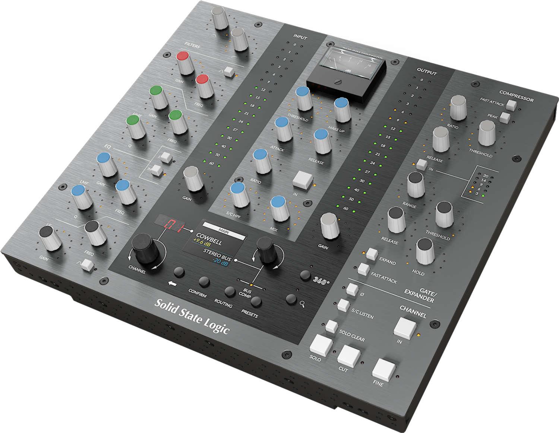 Solid State Logic stellt UC1 Plug-In Controller vor
