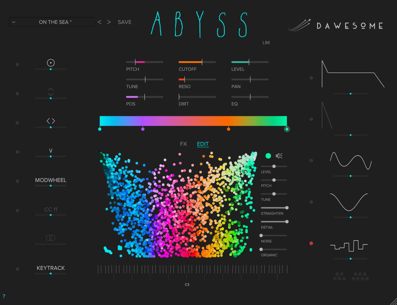 Tracktion Corporation stellt  Abyss vor