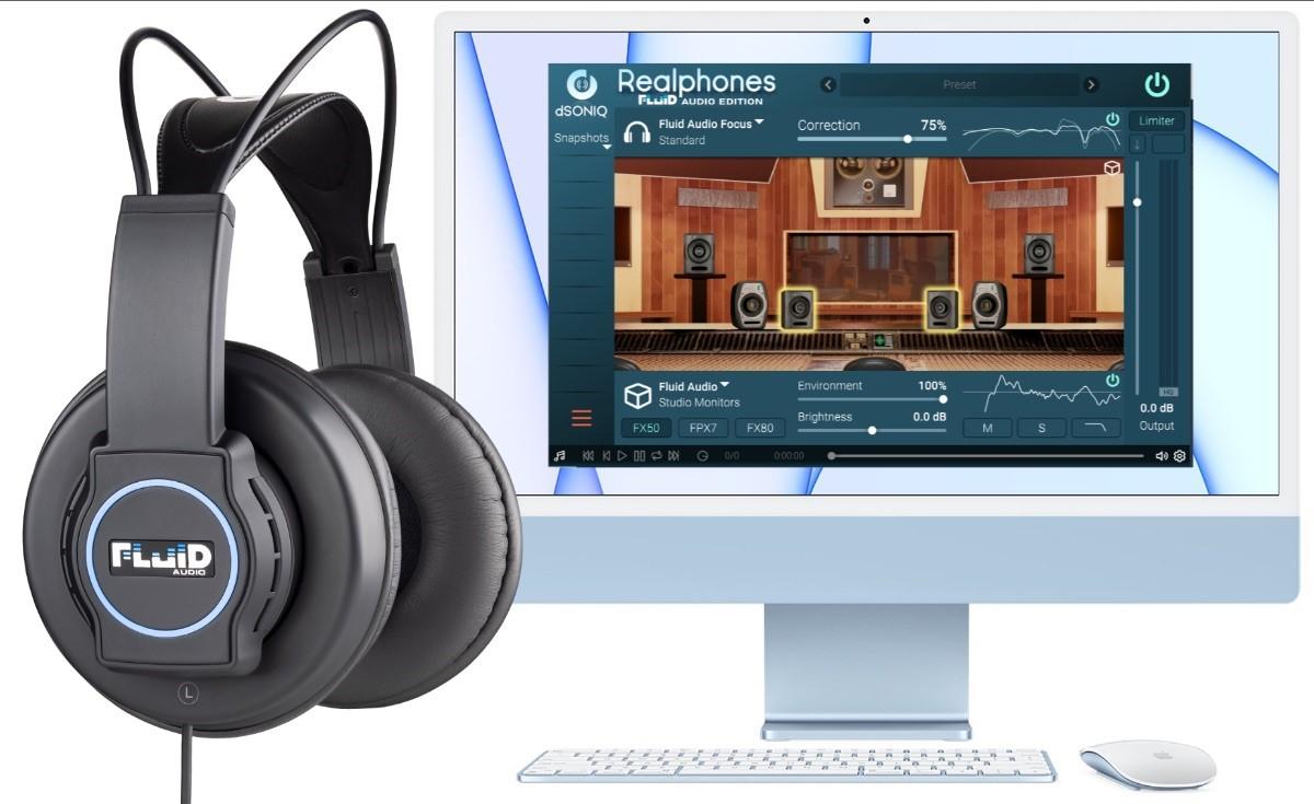 Fluid Audio veröffentlicht das Focus Kopfhörer-Wiedergabe- und Mischsystem
