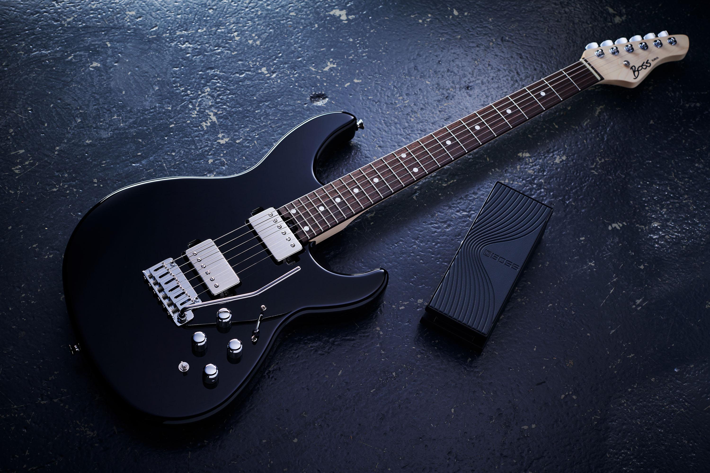 Boss präsentiert Eurus GS-1 E-Gitarre & EV-1-WL Expression Pedal