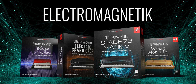 IK Multimedia veröffentlicht Electromagnetik