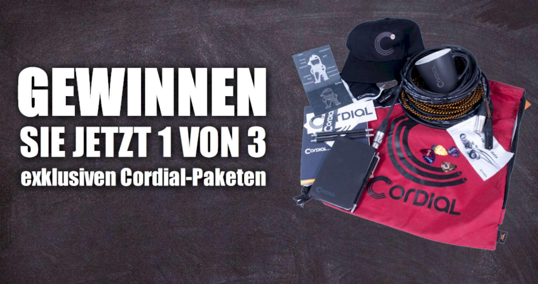 [BEENDET] Gewinnen Sie 1 von 3 exklusiven Cordial Mikrofonkabel-/Merchandise-Paketen im Wert von je 85 € (UVP der Kabel)